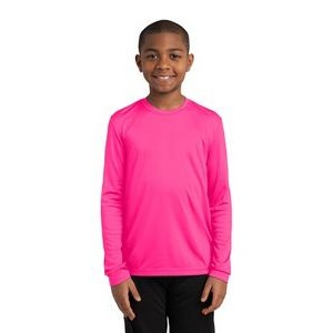 Youth Sport-Tek� Long Sleeve PosiCharge� Competitor� Tee Shirt